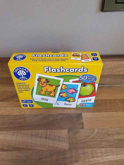 Flashcards orchard game