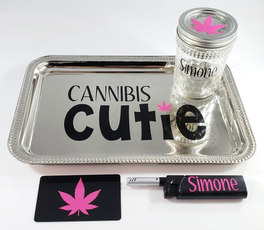 Customizable Rolling Tray Kit