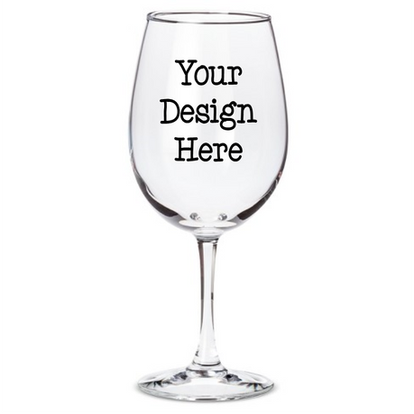 Customizable Wine Glass