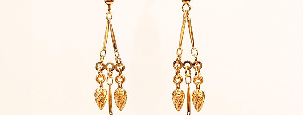 Boucles d'oreilles Triangula