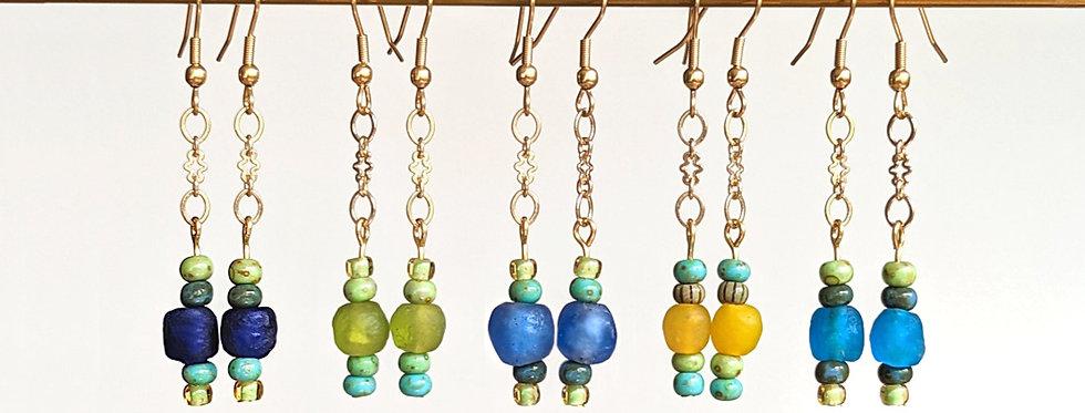 """Boucles d'oreilles """"lanternes"""""""
