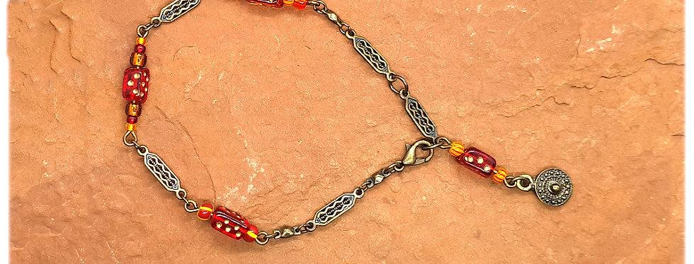 Bracelet Dés et Chaîne