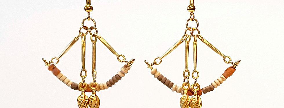 Boucles d'Oreilles Arc de Cupidon