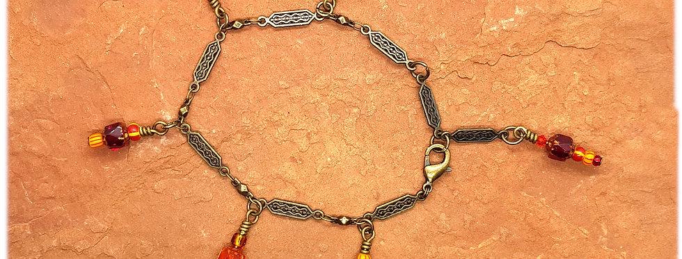 Bracelet Breloques et Chaîne