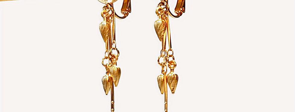 Boucles d'oreilles Aurea Orba (clips)