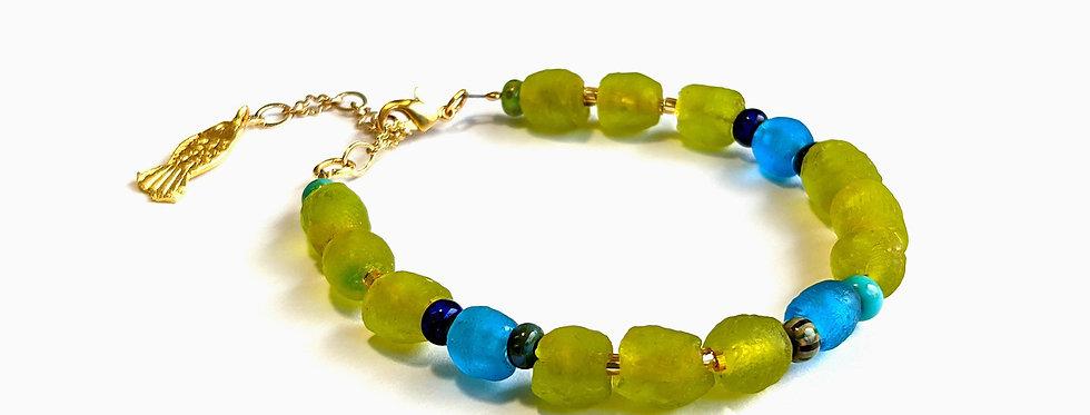 Bracelet Vert Lagon