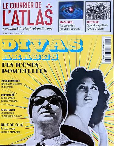 Bahia Lacour, article du Courrier de l'Atlas , juillet 2021