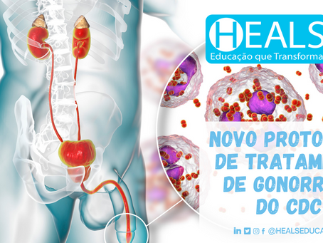 NOVO PROTOCOLO DE TRATAMENTO DE GONORREIA DO CDC