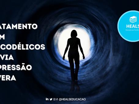 TRATAMENTO COM PSICODÉLICOS ALIVIA DEPRESSÃO SEVERA.