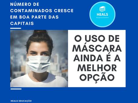 USO DE MÁSCARA É A MELHOR ESTRATÉGIA DE PREVENÇÃO DA COVID-19.