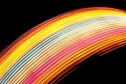 Art Luz do arco-íris