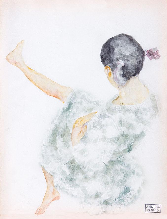 Uscir di schiena (studio)