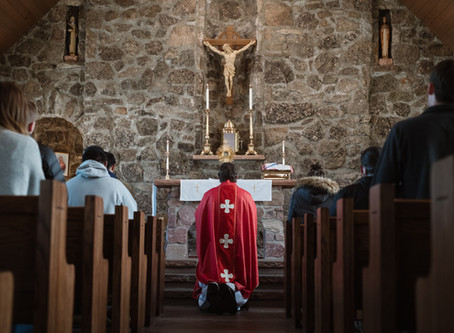 Why You Should Go To Mass On A College Campus (even if you're not a college student)