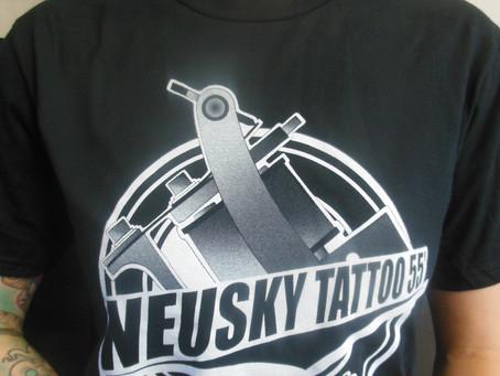 Nos tee shirts de nouveau en stock !