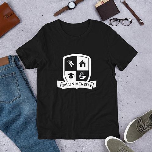 IREU Short-Sleeve Unisex T-Shirt (Black)