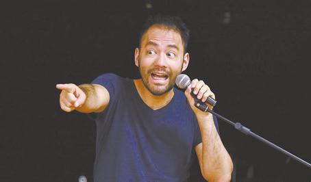 """Javicho Soria: """"El Stand Up es mucho de analizar el comportamiento humano, el particular y el de uno"""