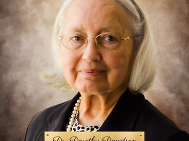 The Passing of Dr. Dorothy Davidson: Engineering Pioneer, Philanthropist and Friend