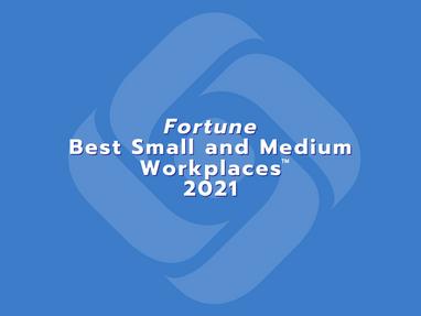 Davidson Makes Fortune Best Small & Medium Workplaces™ 2021 List