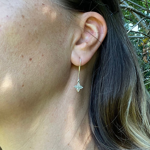 Anahita 2 silver earrings