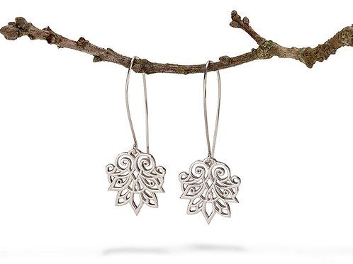 Anahita 1 silver earrings