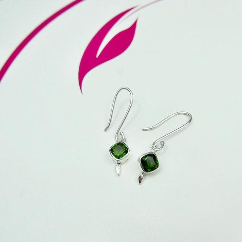Diosphase drop earrings