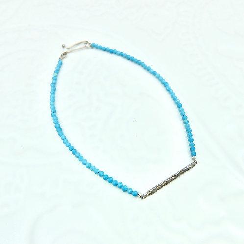 Sundar bracelet in silver and turquoise