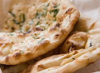 Chef Gianluca Deiana Abis: Garlic Flatbread