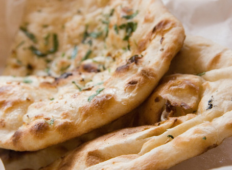 Fitter Flatbreads with Fresh Greens