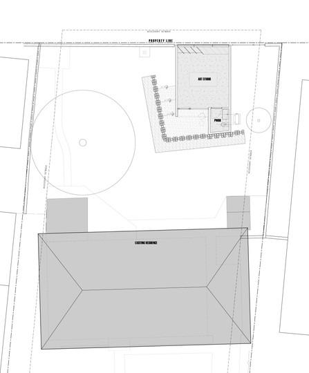 Missing Studio Site Plan