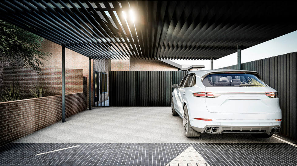 Entry Carport