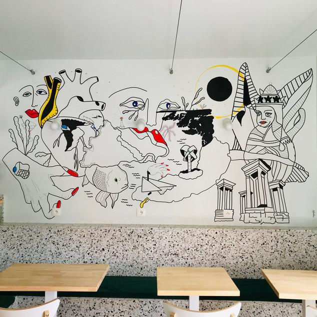 AMAPOLA fresque murale