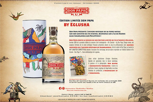 Don Papa collaboration canister, 2019