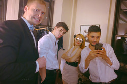 """Backstage of """"Menage a Trois!"""""""