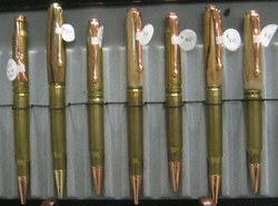 30 Caliber recycled Shell Pens