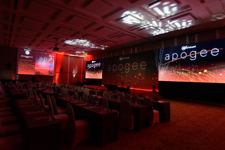 Apogee conference - Watch Guard - LED Screen Rentals in Danang