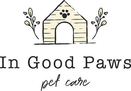 In Good Paws Pet Care Logo Design - Pet