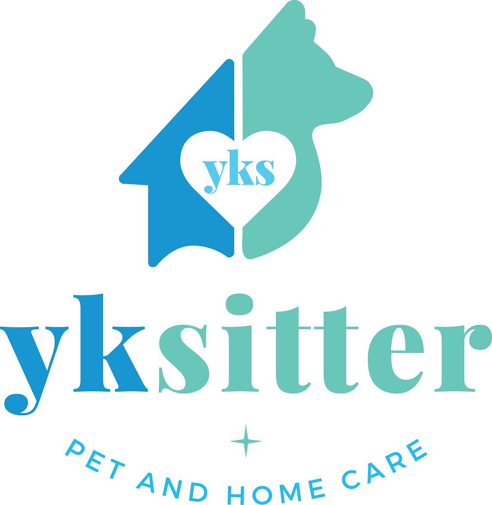 YKSitter Yellowknife Canada Pet Sitter Logo Design | Pet Marketing Unleashed