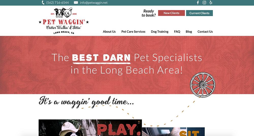 best dog walker in Long Beach