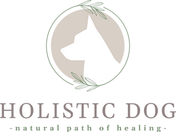 HolisticDog logo for holistic dog wellness practice