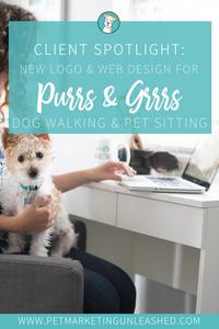 Dog Walking And Pet Sitting Web Designer | Pet Marketing Unleashed