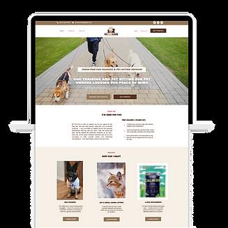 pet marketing unleashed website template