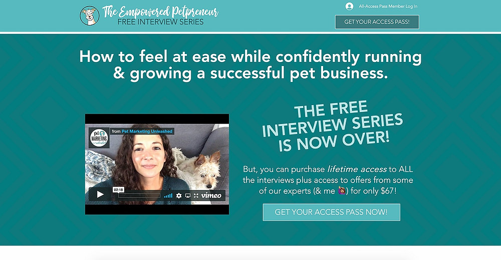 The Empowered Petpreneur Online Interview Series Summit For Pet Business Owners   How To Plan And Launch Your Online Summit   Pet Businesses