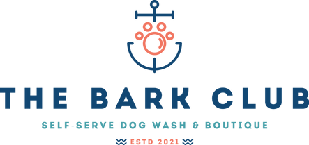 The Bark Club Dog Wash & Boutique Logo D