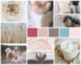 Hugs N' Belly Rubs Mood Board Pet Business Branding