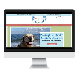 Kat's Dogs & More Dog Walker And Pet Sitter Web Design Pet Marketing Unleashed