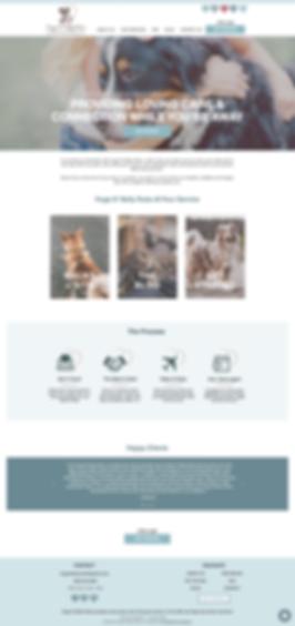 hugsnbellyrubs website design for pet businesses