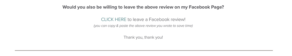 how to ask clients to leave a review on Facebook | Pet Marketing Unleashed
