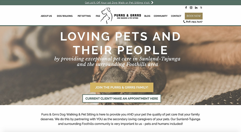 Wix Websites For Pet Businesses | Pet Marketing Unleashed