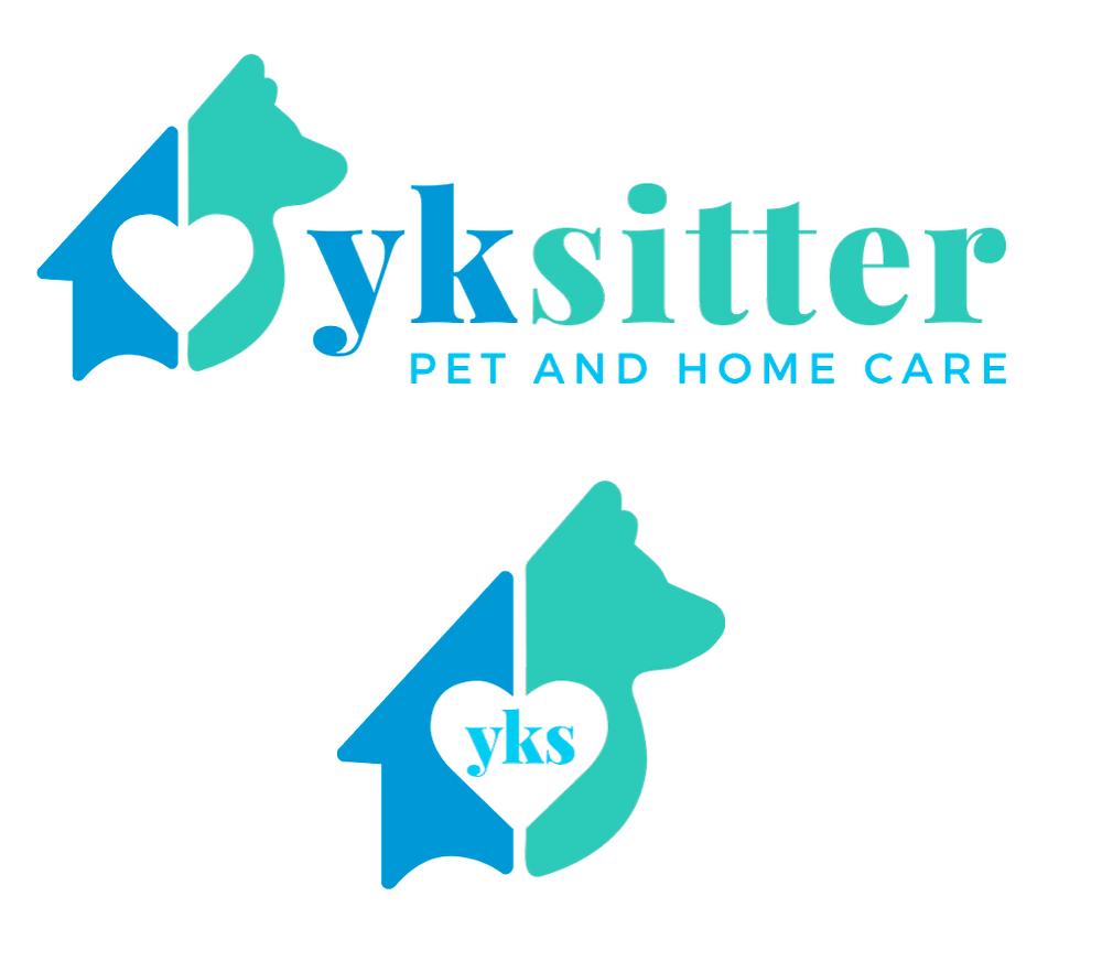 YKSitter Yellowknife Canada Pet Sitter Logo Design and Branding | Pet Marketing Unleashed