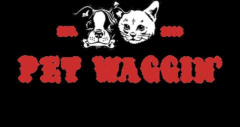 Pet Waggin' Pet Care Logo